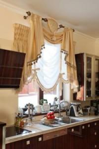 firanki w kuchni